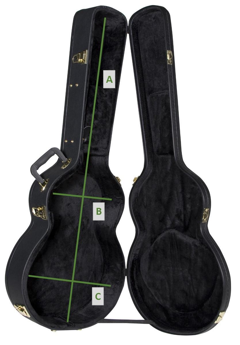 Amazon.com: Yamaha hc-ag2 APX vinilo Hardshell Funda para ...