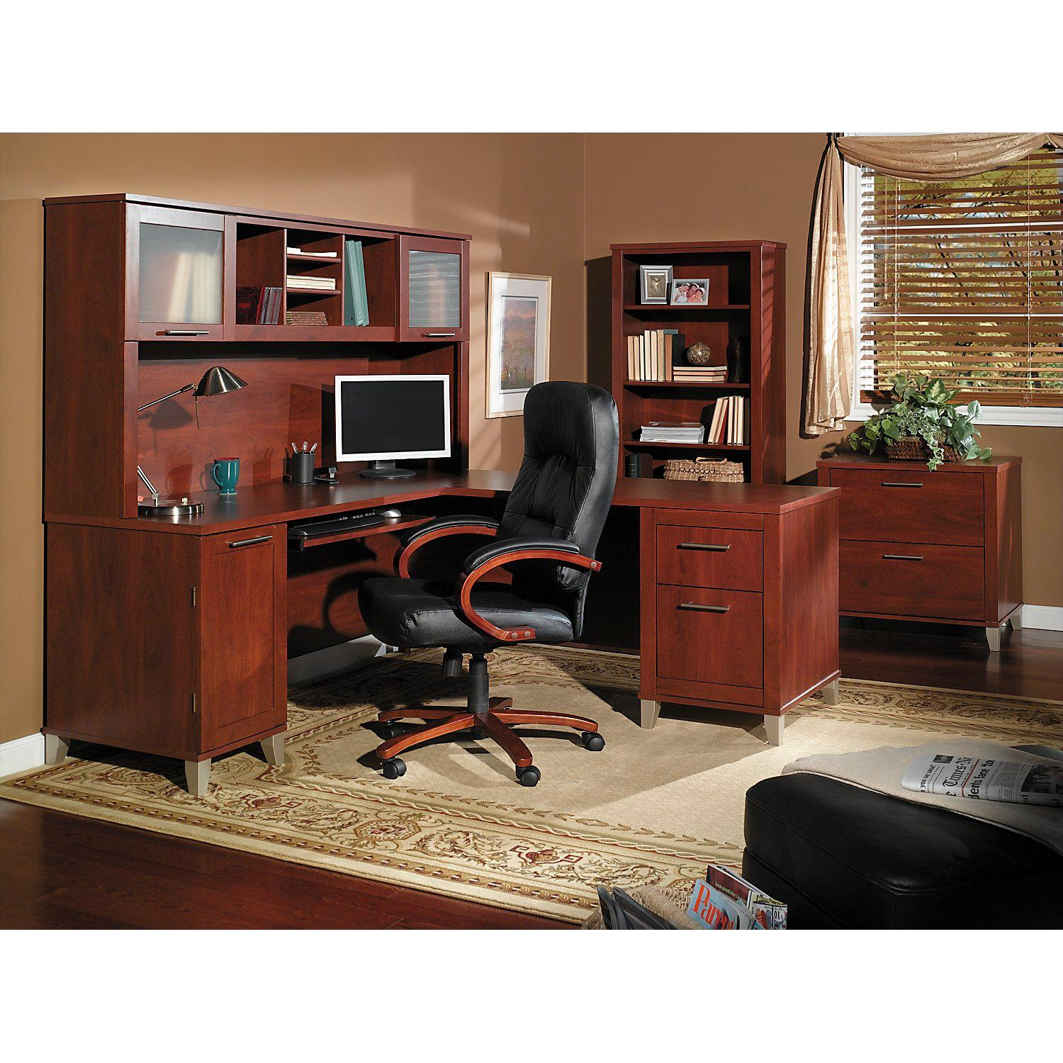 Amazon.com: Somerset Lateral File Cabinet in Hansen Cherry ...