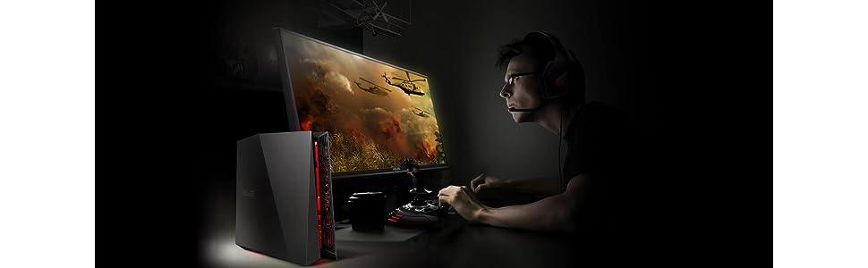 ASUS ROG G20CB GTX 10 Gaming Desktop, VR Ready.