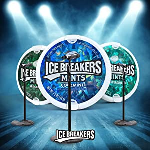 Ice Breakers Sugar Free Mint With Cooling Crystal, Spearmint, 42g (Pack Of 2) - Urban Platter