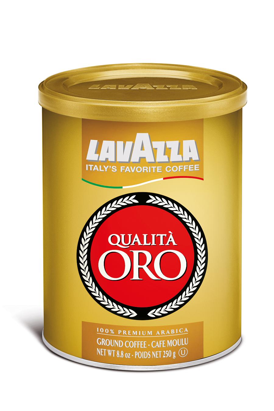 Amazon.com : Lavazza Qualita Oro Ground Coffee Blend ...