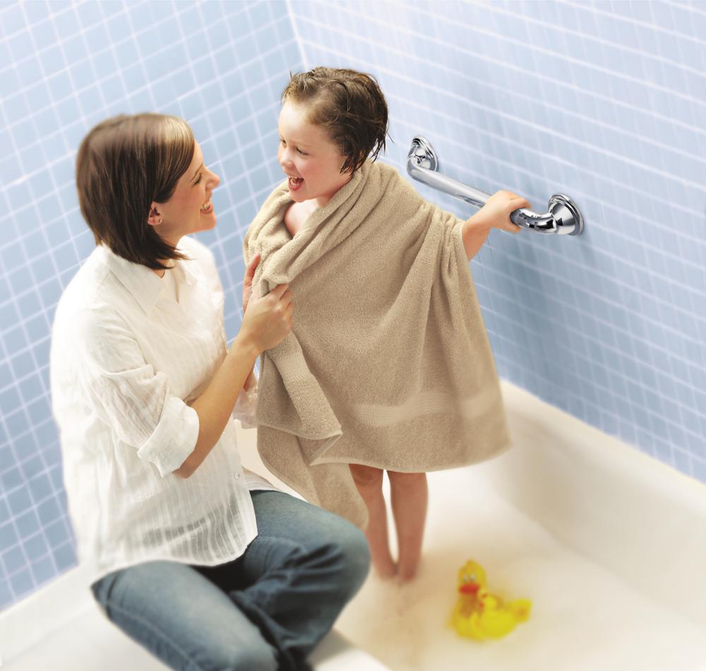 Amazon.com: Moen LR8724D2BN 24-Inch Designer Bathroom Grab Bar ...
