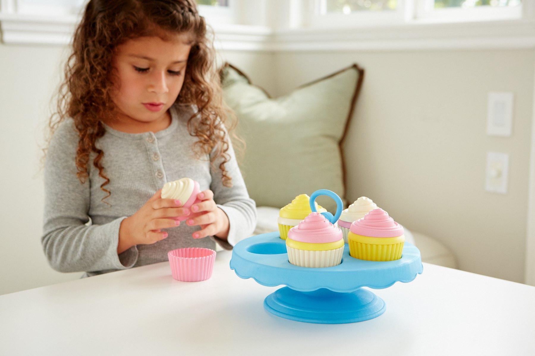 Amazon Green Toys Cupcake Set Toys & Games