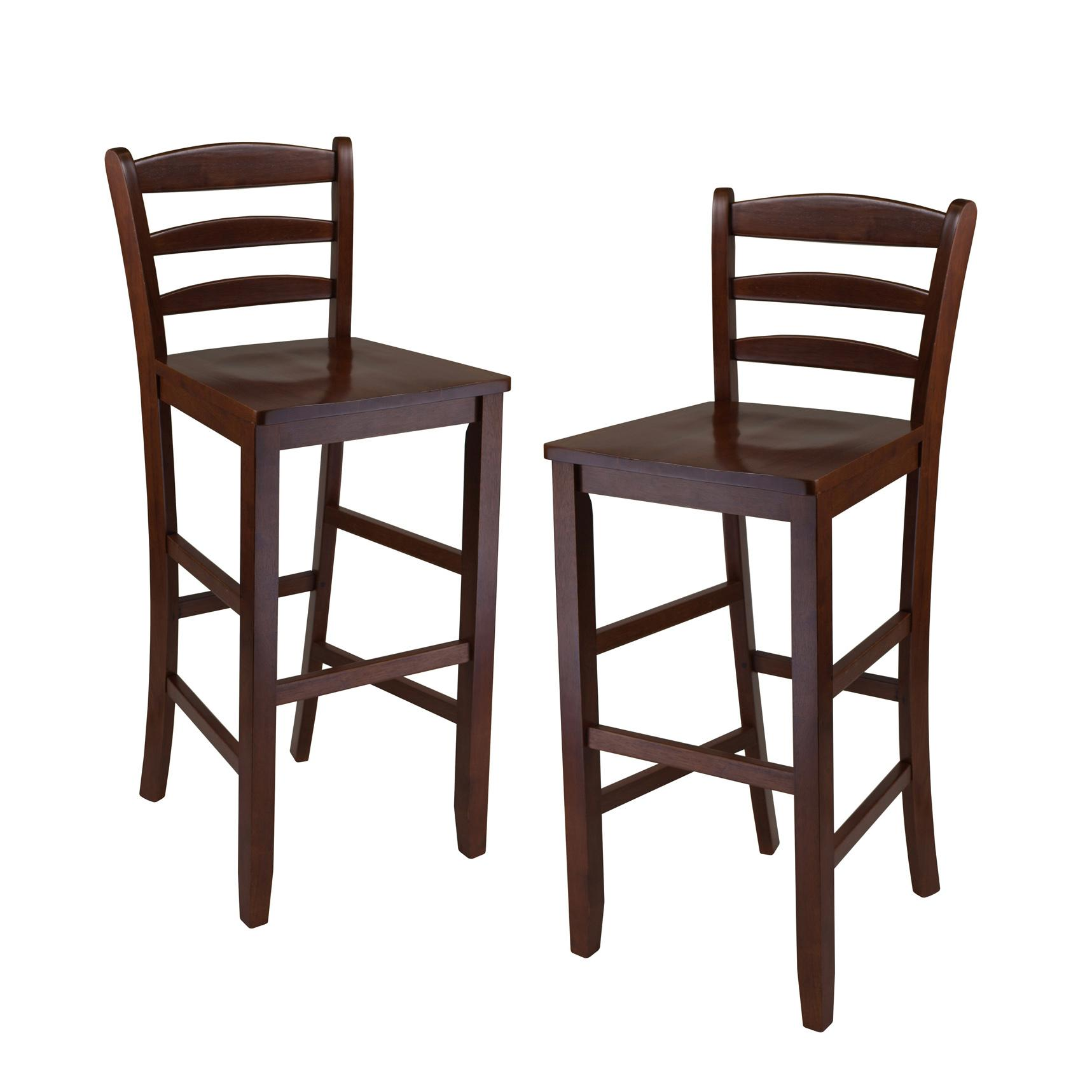 View larger  sc 1 st  Amazon.com & Amazon.com: Winsome 29-Inch Bar Ladder Back Stool Set of 2 ... islam-shia.org