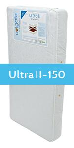 Colgate, Ultra II, Foam crib mattress