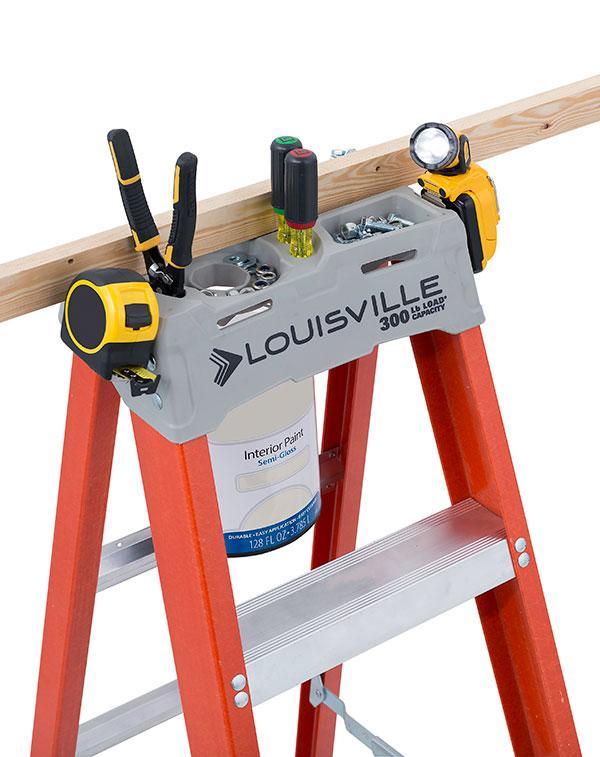 Louisville Ladder 8 Feet Fiberglass Step Ladder 300 Pound