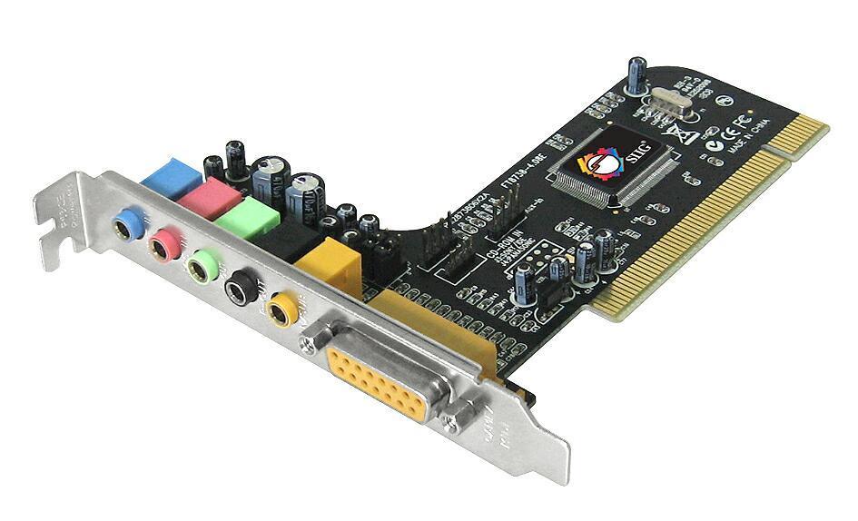 Amazon.com: Siig Soundwave 5.1 tarjeta de sonido PCI ic ...