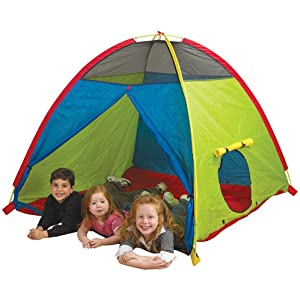 play, tent, large