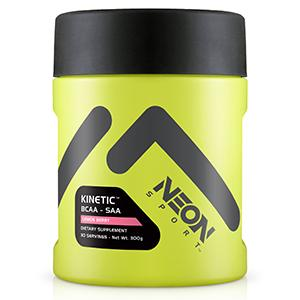 Kinetic neon sport BCAA SAA amino electrolyte carnitine coconut water workout exercise