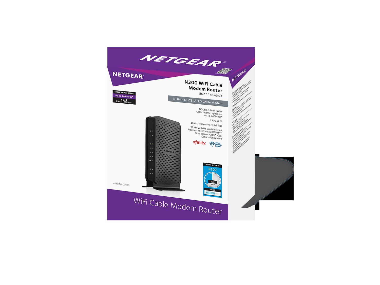 Amazon Com Netgear Certified Refurbished C3000 100nar