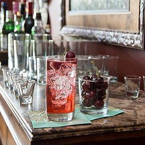 barware; glass; heavy base; home bar; mixology; shot glass; alcohol; cocktail; classic design; bar