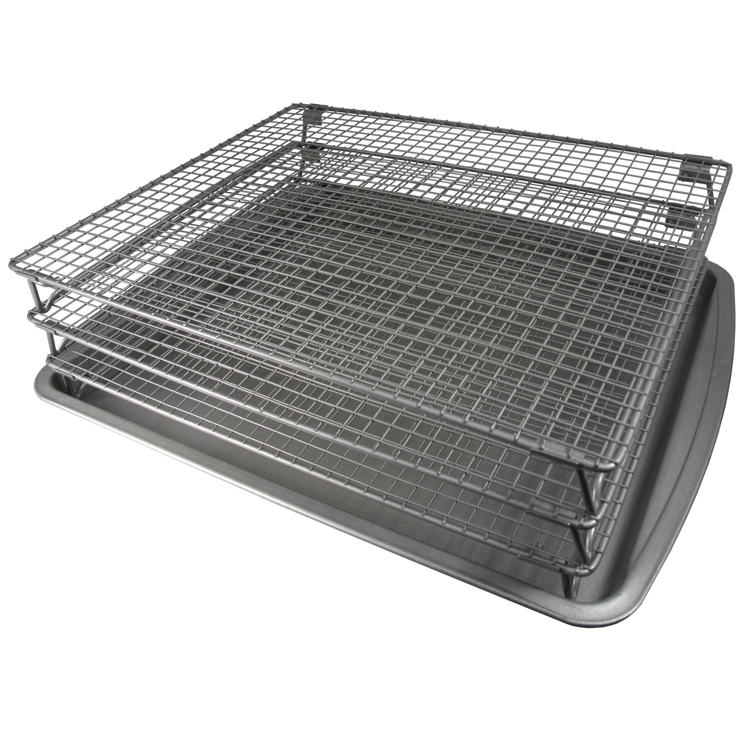 Amazon.com: Weston Nonstick 3-Tier Drying Rack and Baking ...