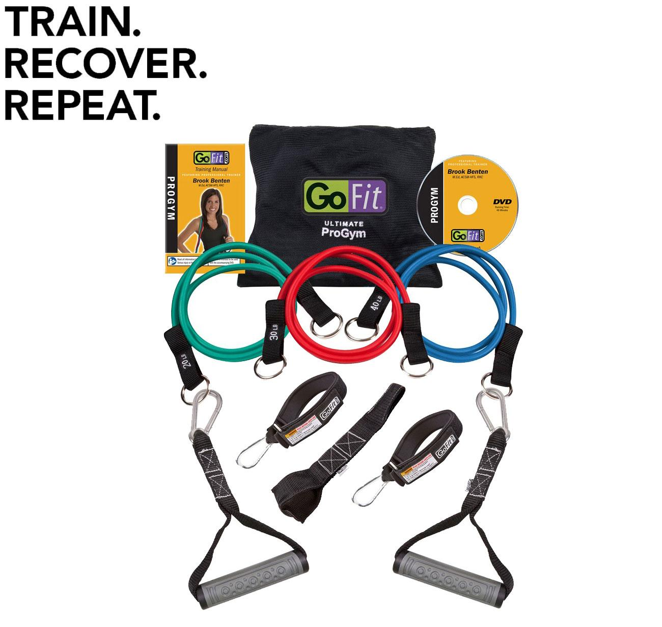 Resistance Bands Meaning: New GoFit Pro Gym Resistance Band Set Go Fit Exercise