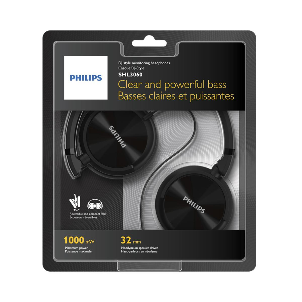872ae71f713 Amazon.com: Philips SHL3060BK/28 Philips SHL3060BK/28 DJ Style ...