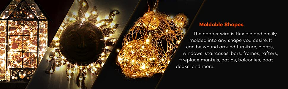 Outdoor string lights,starry string lights,Starry lights,Party lights,Warm white led lights,
