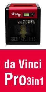 da Vinci Pro 1.0 3 in 1 3D Printer