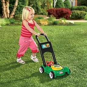 Amazon Com Little Tikes Gas N Go Mower Toys Amp Games