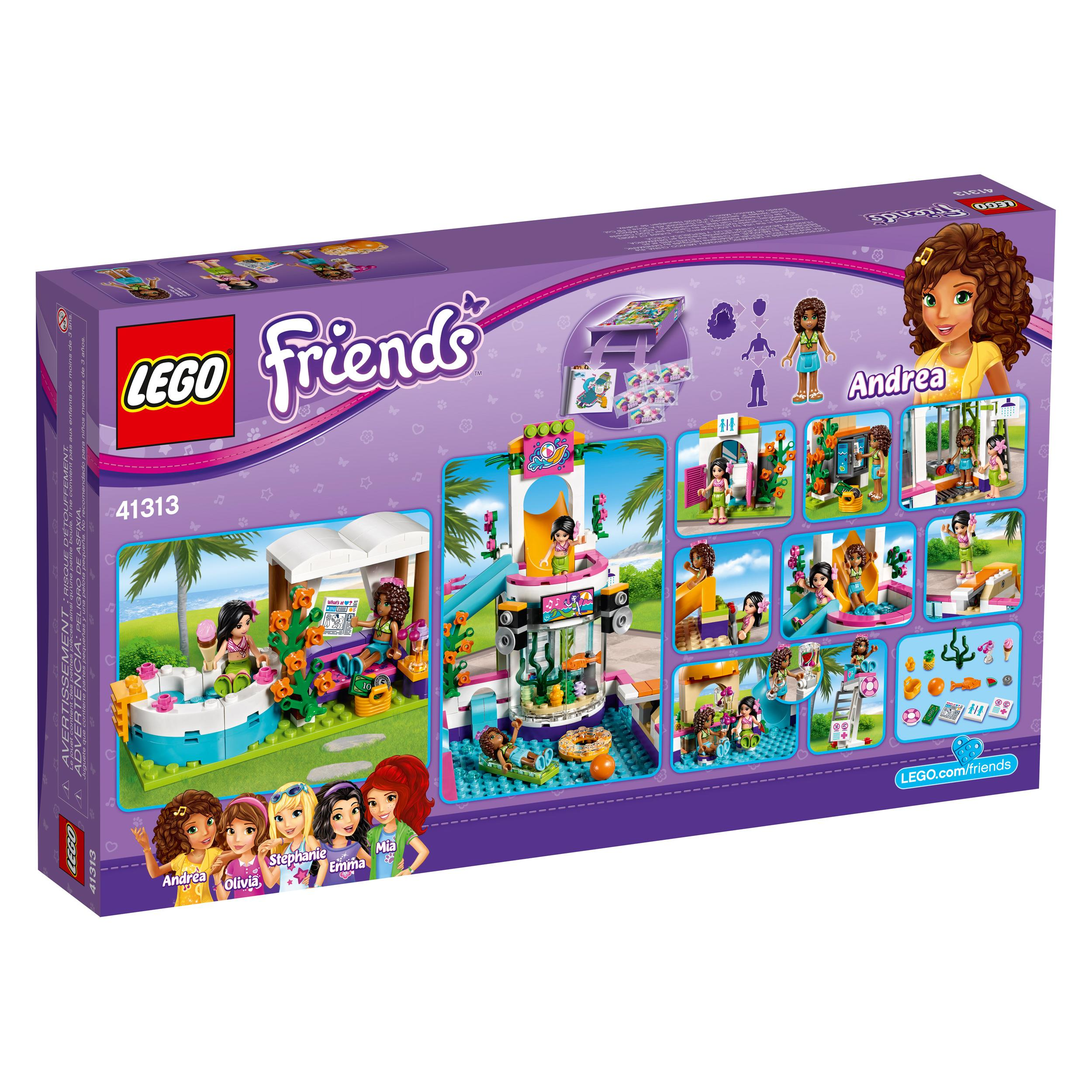 Toys For Girls Age 15 : Amazon lego friends heartlake summer pool new