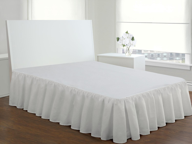 Amazon Com Fresh Ideas Bedding Ruffled Bed Skirt Classic