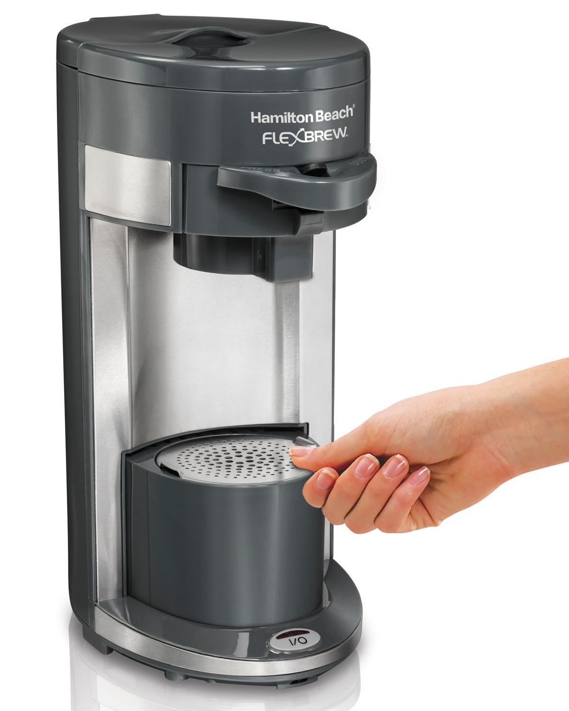 Amazon Com Hamilton Beach Coffee Maker Flex Brew Single