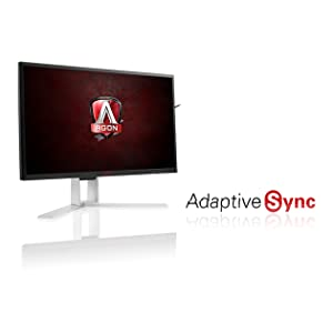 """AOC Agon AG271QX 27"""" Gaming Monitor, Free Sync, 2560 x 1440 Res, 350 cd/m2,144hz, 1ms,VGA, DVI, DP"""
