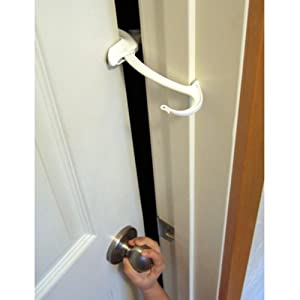 Amazon Com Door Monkey Door Lock And Pinch Guard