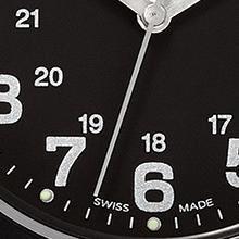 Original, Swiss Army, Swiss Army Watch, Victorinox Swiss Army, VSA, Victorinox, Watch, Black, casual
