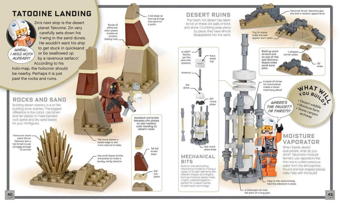 lego star wars build your own adventure daniel lipkowitz