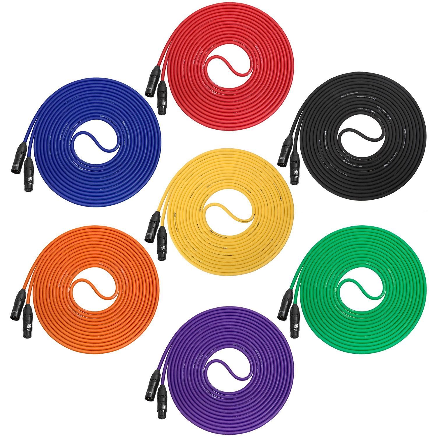 Lyxpro Balanced Xlr Cable 100 Ft Premium Series Wiring Color View Larger