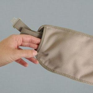 Soft Adjustable Elastic Waistband with Strap Keeper