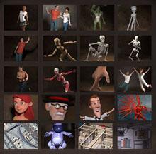 Poser, Poser Pro 11, 3d, 3d figures, 3d content, 3d software