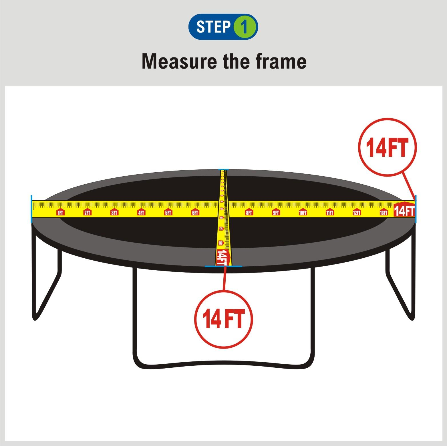 Amazon.com : Trampoline Replacement Safety Net For Top