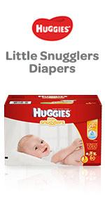 Our best diaper for newborn babies, Little Snugglers diapers fit babies preemie size up to size 3.