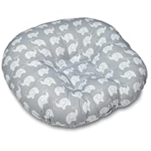 Amazon Com Boppy Custom Fit Total Body Pillow Grey Baby