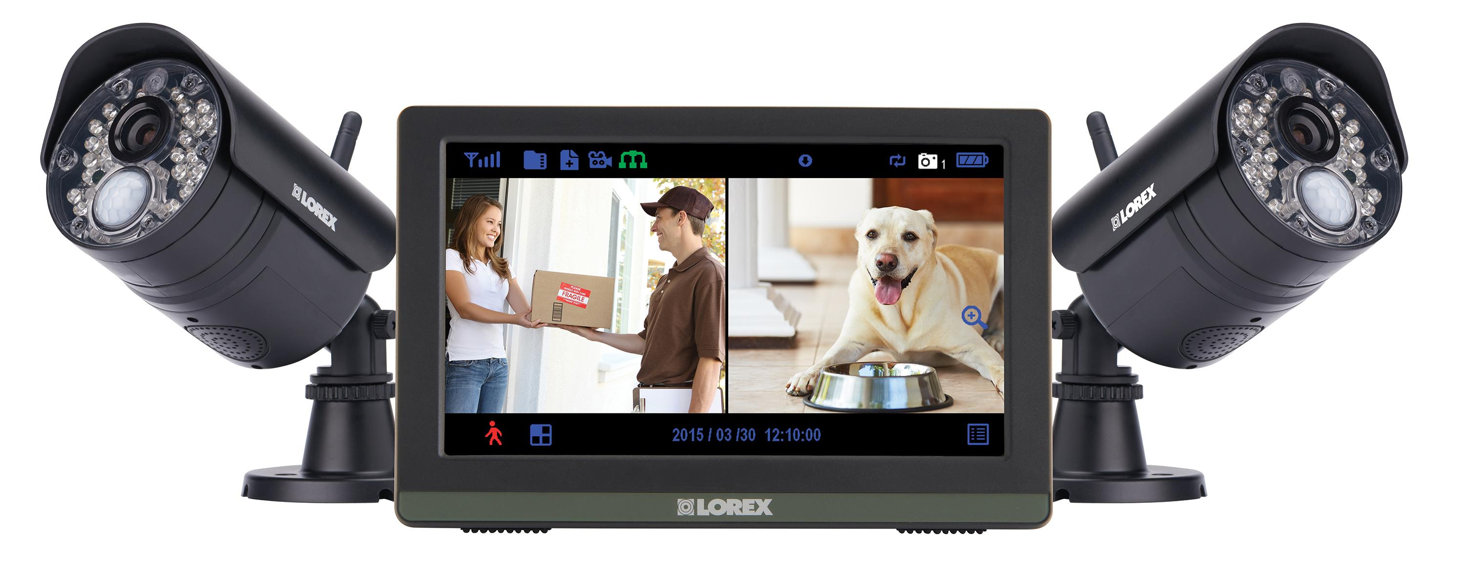 Amazon Com Lorex Lw2772h Wireless 720p 7 Quot Touch Screen
