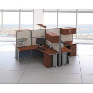 Amazon.com: Bush L-Workstation (Box 1 of 2) Office-in-an-Hour ...