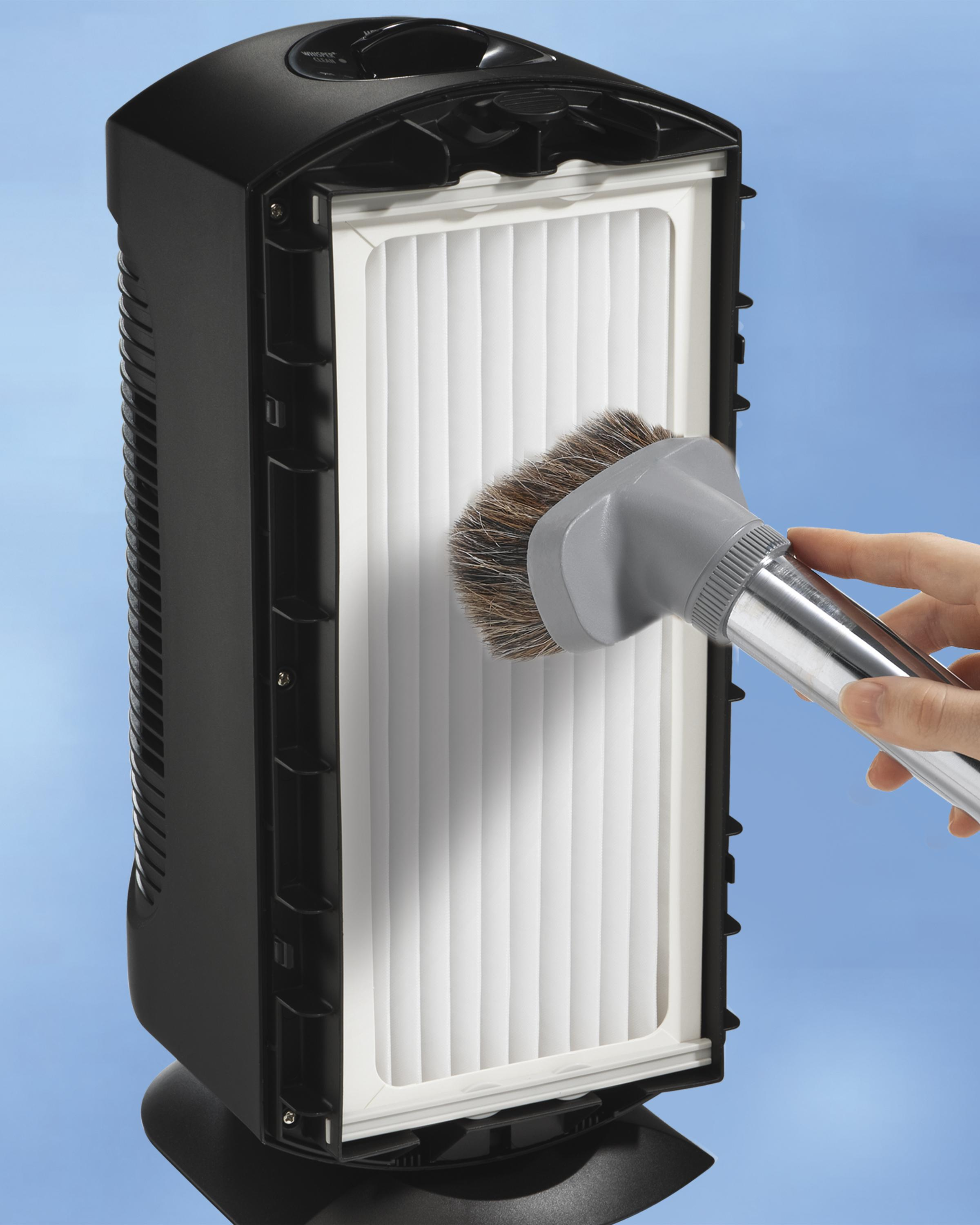 how to clean permanent air filter