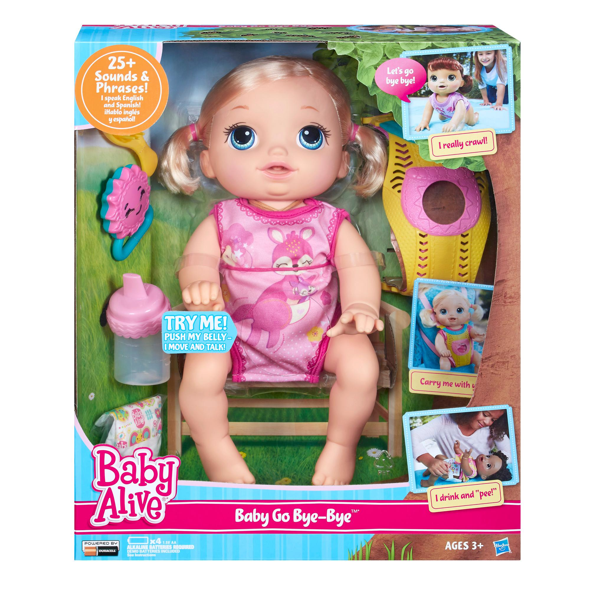 Baby Alive Toys : Amazon baby alive go bye blonde toys games