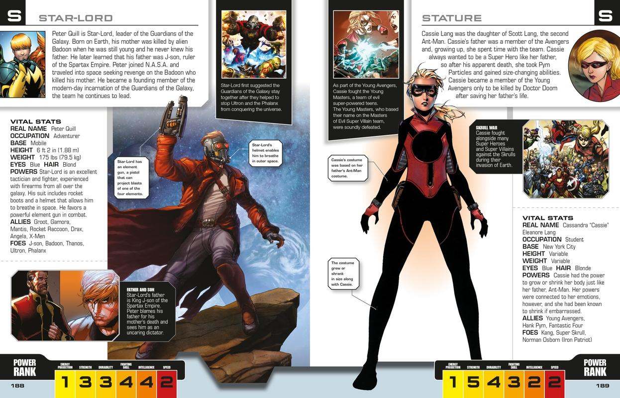 Marvel The Avengers The Ultimate Character Guide Alan