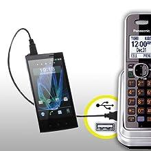 KX-TG7875S USB charge