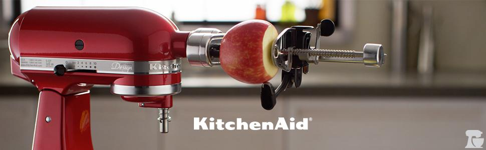 kitchenaid vegetable sheet cutter price. kitchenaid spiralizer with peel, core and slice kitchenaid vegetable sheet cutter price