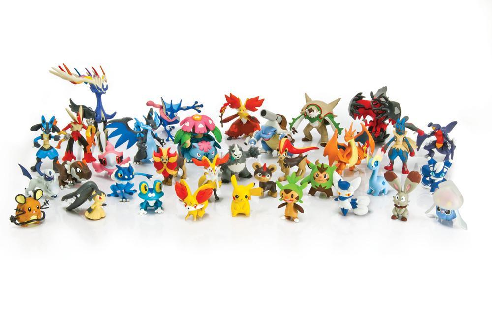 Amazon TOMY Pokemon Pichu Pikachu And Raichu Action Figure 3