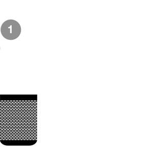 Connect the Sonos PLAY:1 to power.