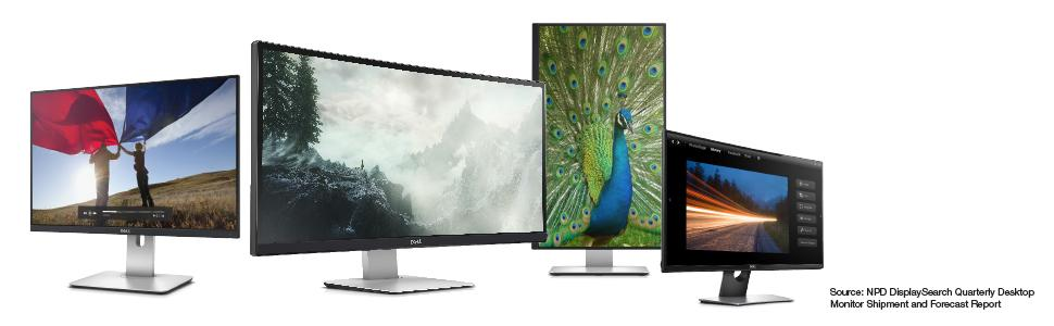 Dell HD Monitors