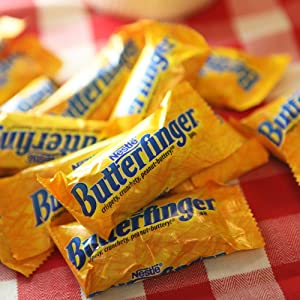 butterfinger, halloween, snack, chocolate bar, candy