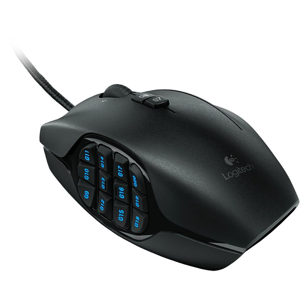 Amazon.com: Logitech G600 MMO Gaming Mouse, RGB Backlit