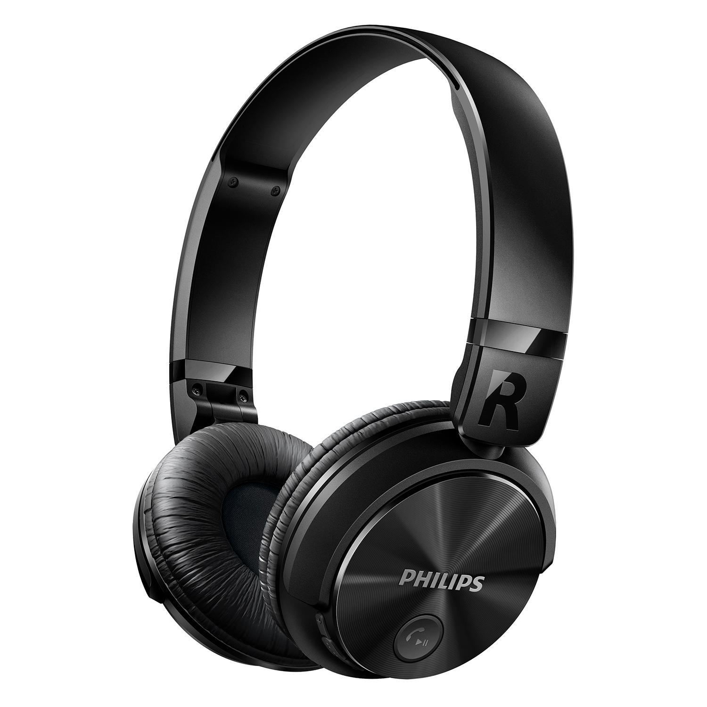Amazon Com Philips Shb3060bk 27 Bluetooth Stereo Headset Black Home Audio Theater