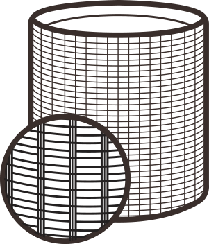 Amazon.com : Keter Round Cylinder Plastic Rattan Resin