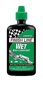 Wet Lube; Finish Line