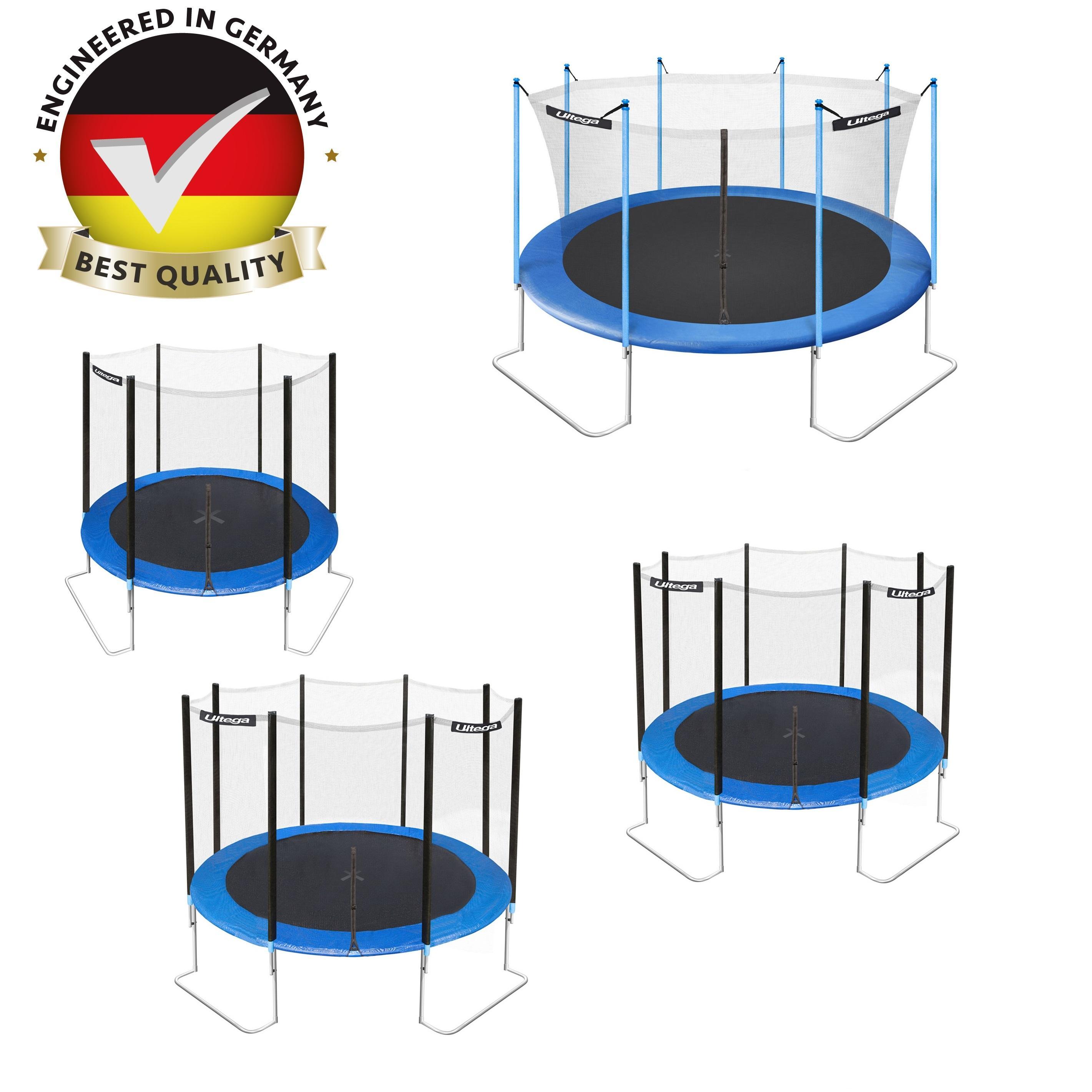 Amazon.com : Ultega Jumper Trampoline With Safety Net, 14